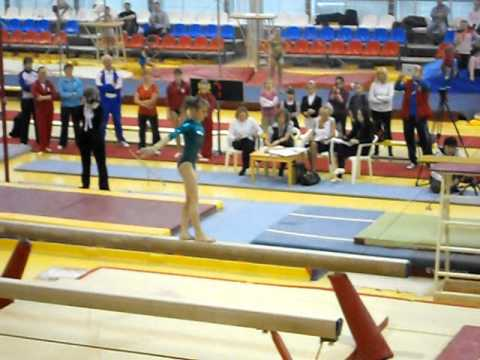 Viktoria Komova 2012 Moscow Championships Balance Beam