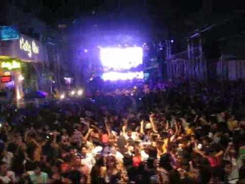 NEW YEARS 2009 @ CLUB SLIM RCA THAILAND WITH BANGKOK INVADERS DJ ONO MC DANDEE