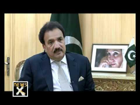 Rehman Malik Interview (Unedited Version) Seg-1