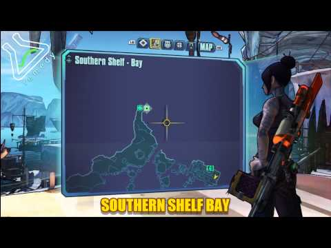 Southern Shelf Bay Cult of the Vault Locations - Borderlands 2