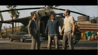 Grand Theft Auto V Official Trailer 2 (HD)