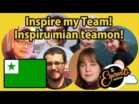 Inspire my team! | Inspiru mian teamon! #Amikumu