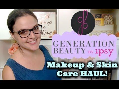 LIVE CHAT - Generation Beauty Makeup & Skin Care HAUL!   Jen Luvs Reviews