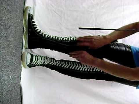 Thigh High Tennis Shoes