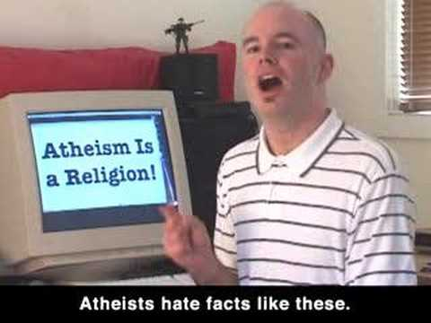 Atheism Is a Religion!