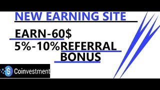 NEW BITCOIN MINING SITE 2019 | EARN-60$ Let Your Cryptocoins Work and Multiply | BY MR.RICHI RICH