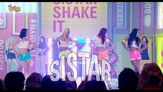 【TVPP】SISTAR –  Shake It, 씨스타 - Shake It @ Comeback stage, Show Music Core Live