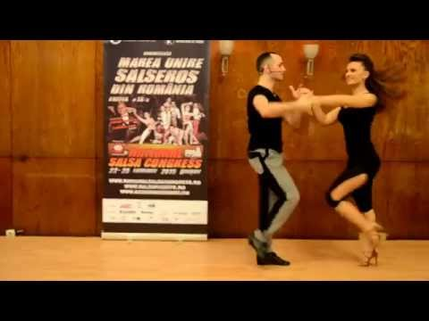 Adrian & Tatiana - Sonrisa Dance Center - NSC 2015 - Salsa in PW