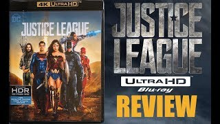 Justice League 4K Bluray Review | Dolby Atmos | HDR10