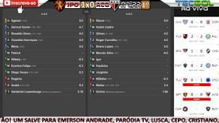 SPORT 4x0 ATLÉTICO-GO / 2ºT DE ATLÉTICO-PR 0x0 BOTAFOGO - NARRAÇÃO + PARCIAIS DO CARTOLA FC!