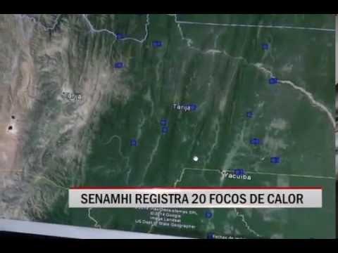 16/10/2014 - 13:00 SENAMHI REGISTRA 20 FOCOS DE CALOR