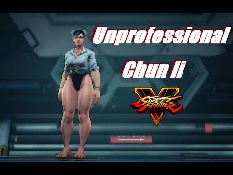 Street Fighter 5 mods unprofessional chun li #1
