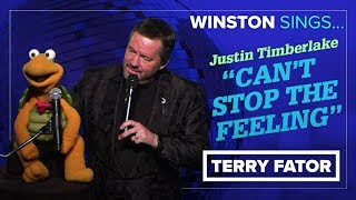"Download Lagu Winston sings Justin Timberlake's ""Can't Stop The Feeling"" - TERRY FATOR Gratis STAFABAND"