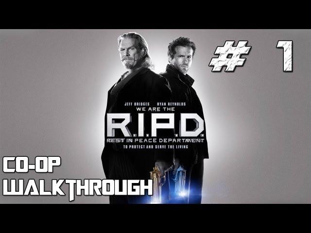 Руководство запуска: RIPD: The Game (Призрачный патруль)  по сети