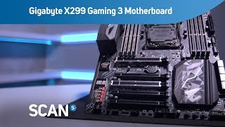 Gigabyte AORUS Intel Core-X X299 Gaming 3 ATX Motherboard - Overview