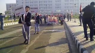 DID Manasweeans took part in NCSC International Science Event at Chandigarh 2015