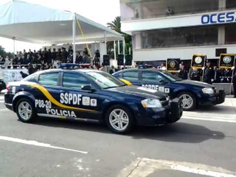 Entrega SSPDF nuevas patrullas equipadas con tecnología de punta