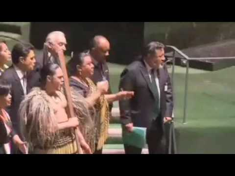 New Zealand Supports UN Declaration of Indigenous Rights
