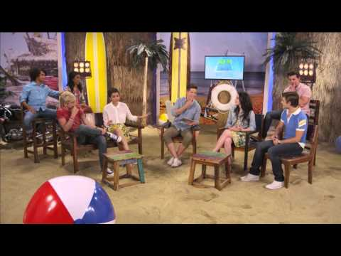 Teen Beach Movie - Live Chat - The Whole Cast - Part 2
