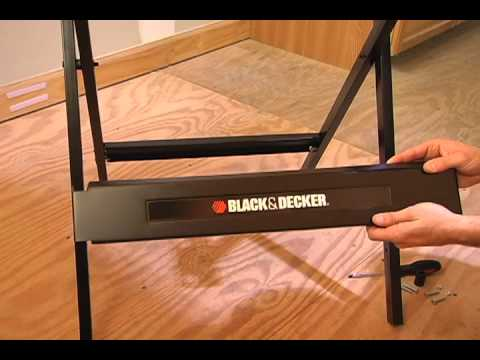 Black & Decker Workmate® Portable Project Center & Vice Assembly (WM125)