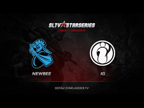 NewBee vs iG, SLTV China Season X, Day 7, Game 3