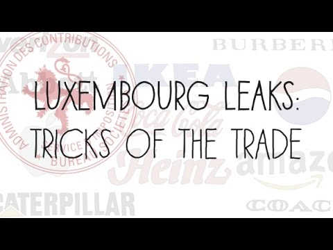 Luxembourg Leaks: Tricks of the Trade