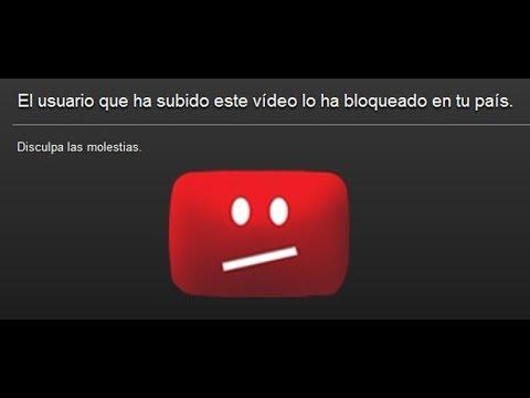 Ver videos bloqueados en diferentes paises