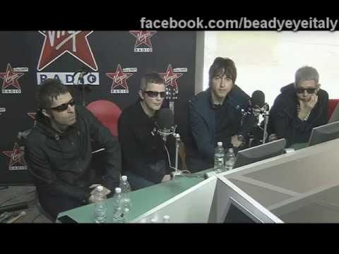 Beady Eye in videochat su Virgin Radio - domande dei fan - Milano 24.06.2013