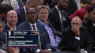 Golden State Warriors vs Utah Jazz – October 19, 2018