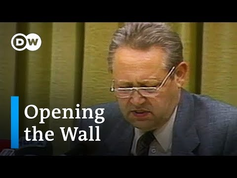 A stroke of fate changed history - Germany: Berlin Wall anniversary | Focus on Europe