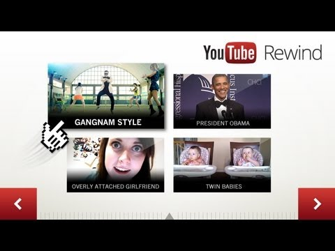 Interactive Timeline: YouTube Rewind 2012 (Global)