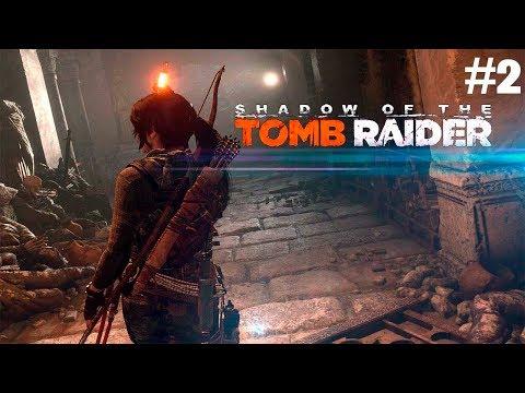 Shadow of the Tomb Raider. 2 часть. Джунгли (без комментариев) [1080p PC]