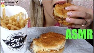 ASMR Steak N Shake (Whispering) | Eating Show | EatWithJas91