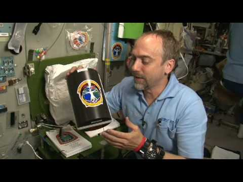Richard Garriott Space Video Blog: Crystal Growth