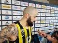 Pero Antic jokes about Kostas Sloukas after Fener's win