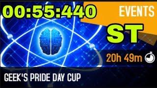 Asphalt 8 Geek's Pride Day Cup Sector 8 Reverse Lamborghini Centenario 00:55:440 ST