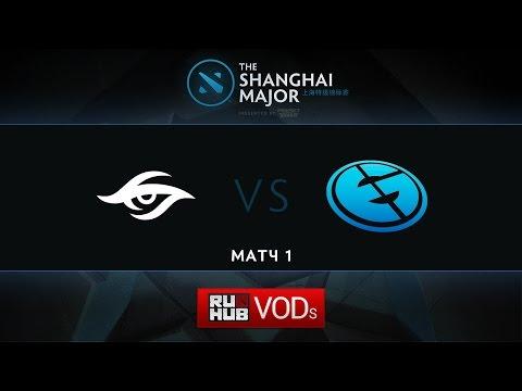 Secret vs EG, Shanghai Major, WB Round 2, Game 1