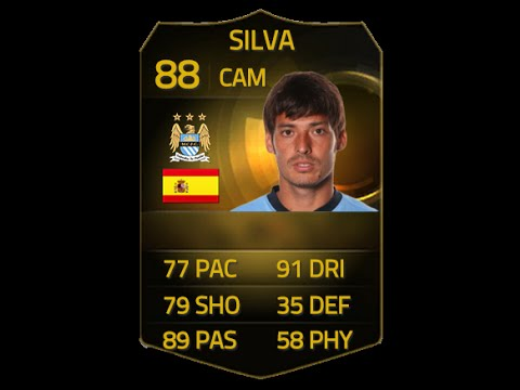 FIFA 15 IF DAVID SILVA 88 Player Review & In Game Stats Ultimate Team