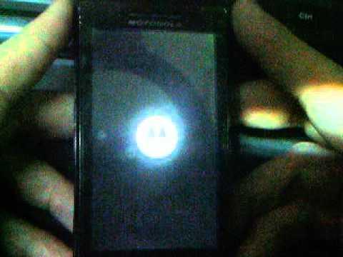 Codigo Erroneo desbloqueo Motorola Milestone