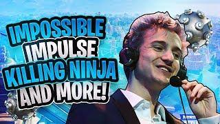 MY 10 BEST CLIPS ON FORTNITE! (Killing Ninja, Sky Base Impulse & MORE!)