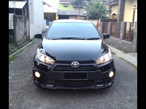 All New Toyota Yaris 2014 TRD Sportivo Black/Hitam Exterior & Interior