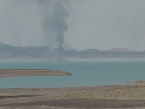 Kurdish Peshmergas Retake Mosul Dam