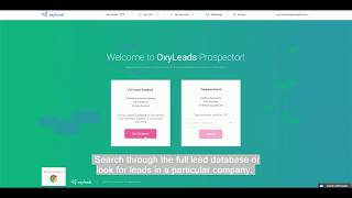 How to build a list in OxyLeads Prospector