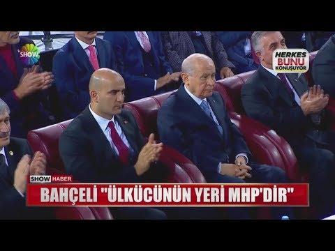 """Bahçeli: """"Ülkücünün yeri MHP'dir"""""""