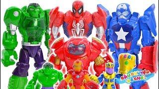 Đồ Chơi Siêu Nhân Nhện Đại Chiến Thanos - Cau Chuyen Do Choi
