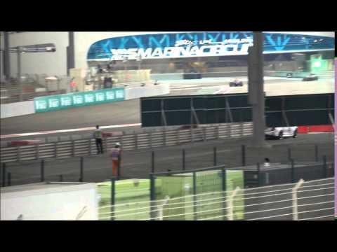 GP F1 Abu Dhabi 2014 - Essais Libres 2 - Tribune West 8