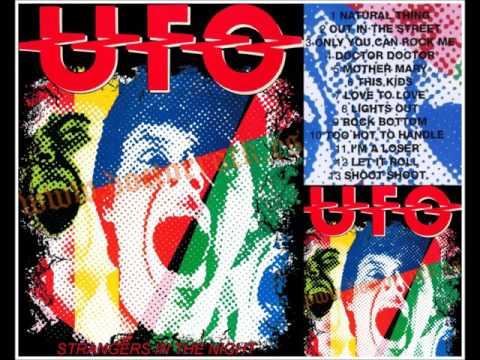 UFO...STRANGERS IN THE NIGHT.  [ THE ORIGINAL LIVE ALBUM ]