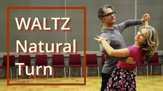 Easiest Way to Learn Waltz Basic | Box | Natural Box | Natural Turn