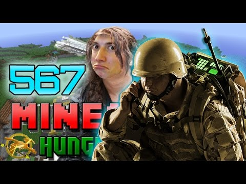 Minecraft: NEW Hunger Games w/Mitch! Game 567 - Military Isle!