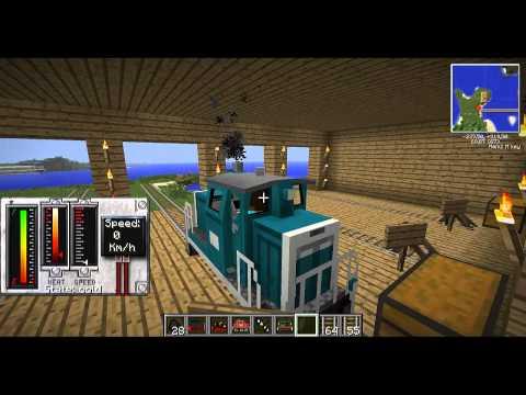 [ITA] Minecraft 1.5.2 Mod  - TrainCraft Mod